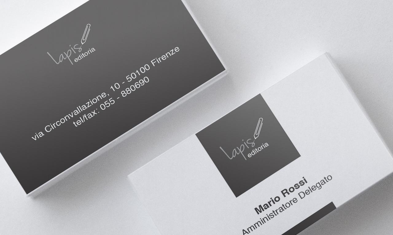 Grafica biglietti da visita | Annalisa Machetti Web & Graphic designer: www.annalisamachetti.it/biglietti-da-visita-lapis-editoria