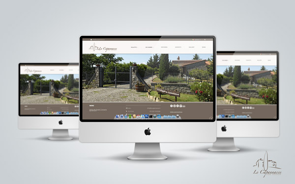 Sito web Le Capannacce
